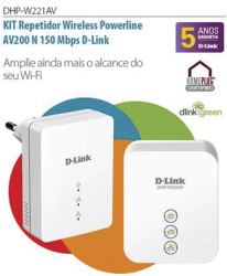 Dlink repetidor powerline av200