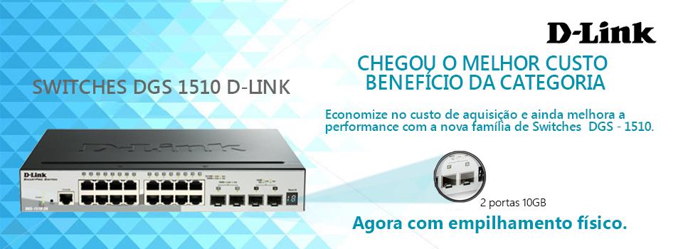 Switch Dlink DGS1510