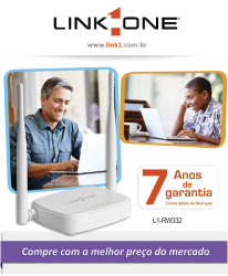 link one roteadores networking