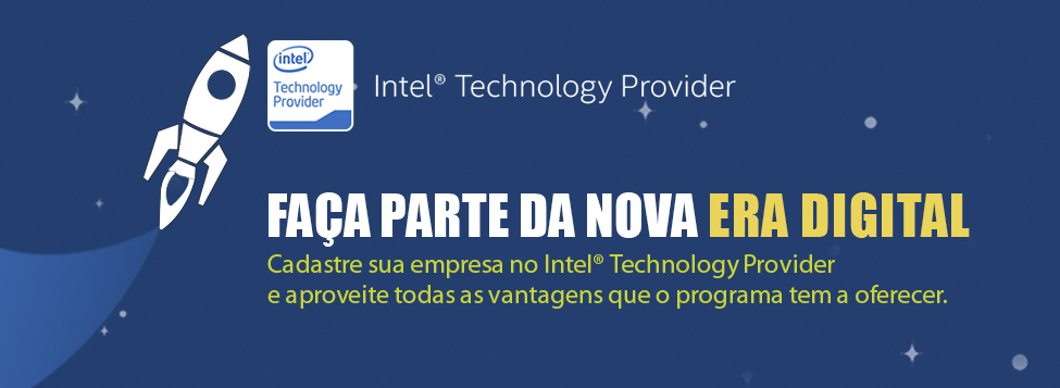 Registro no programa Intel Technology Provider